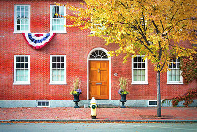 State Street Portsmouth Print by Eric Gendron