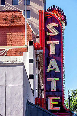 Photograph - State Theater - Austin by Art Block Collections