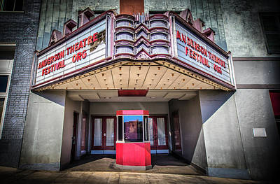 Photograph - State Theater by Lynne Jenkins