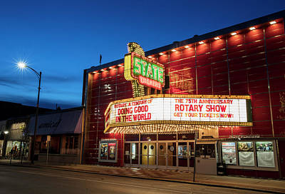 Photograph - State Theatre Traverse City by John McGraw