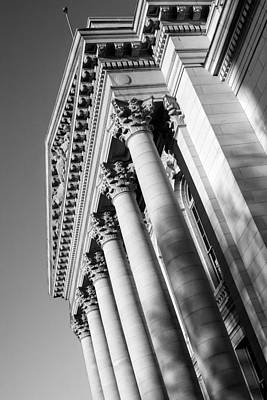 Photograph - Stately Colonnade by Todd Klassy
