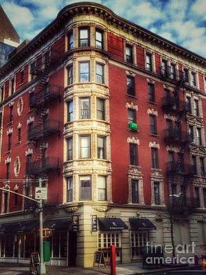 Photograph - Stately Lady Of The East Side - Old Buildings Of New York by Miriam Danar