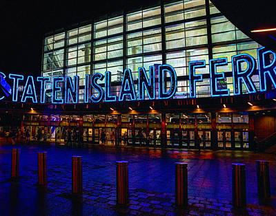 Photograph - Staten Island Ferry 236 by Jeff Stallard