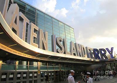 Staten Island Ferry Photograph - Staten Island Ferry 4 by Randall Weidner