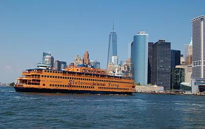 Photograph - Staten Island Ferry by Christopher James