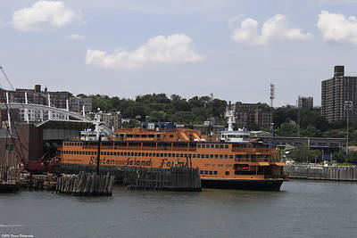 Photograph - Staten Island Ferry  by Debra Forand