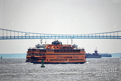 Photograph - Staten Island Ferry by Doc Braham