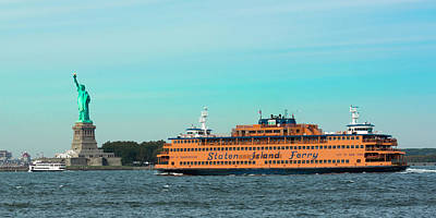 Photograph - Staten Island Ferry by Kenneth Cole
