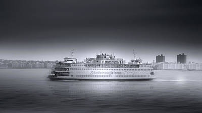 Photograph - Staten Island Ferry by Mark Andrew Thomas