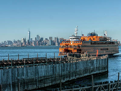 Photograph - Staten Island Ferry by Steve Sahm