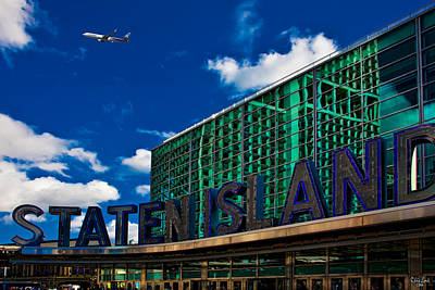Staten Island Ferry Terminal Art Print by Chris Lord