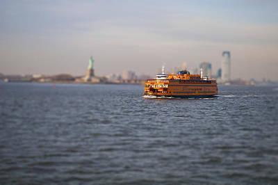 Staten Island Ferry Photograph - Staten Island Miniature Ferry by Pelo Blanco Photo