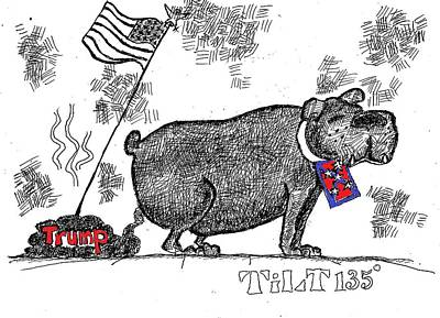 Drawing - States Rights by William Tilton