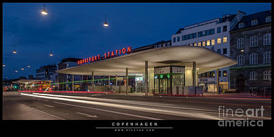 Photograph - Station by Jorgen Norgaard