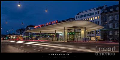Photograph - Station by Jorgen Norgaard