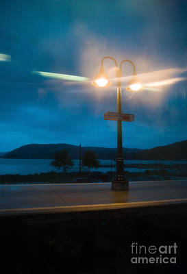Photograph - Station Lighting by Fred Lassmann