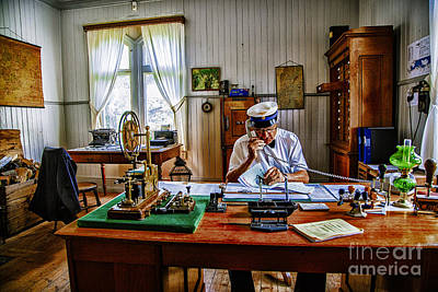 Photograph - Station Master Mariefred by Rick Bragan