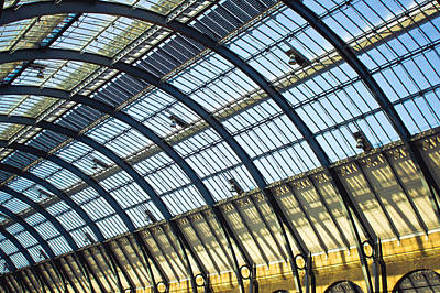 Terminal Photograph - Station Roof by Tom Gowanlock