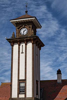 Photograph - Station Tower At Wemyss Bay by Jeremy Lavender Photography