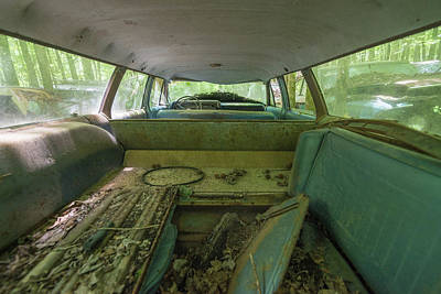 Photograph - Station Wagon In Color by Lindy Grasser
