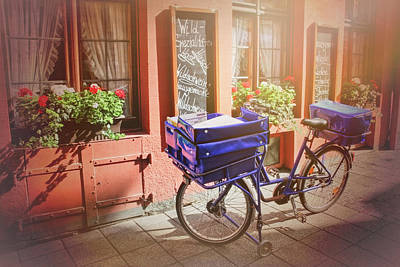 Charming Town Photograph - Stationary In Freiburg by Carol Japp