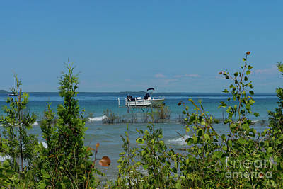 Photograph - Stationed At Mackinac by Jennifer White