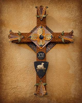 Folk Art Photograph - Stations Of The Cross - Xiv by Stephen Stookey