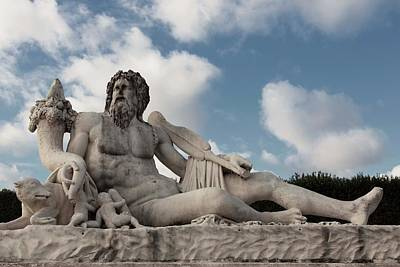 Photograph - Statuaries At Jardin Des Tuileries - 2 by Hany J