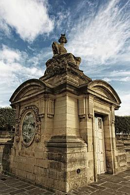 Photograph - Statuary At Place De La Concorde  by Hany J