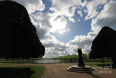 Photograph - Statue At Hampton Court  by Julia Gavin