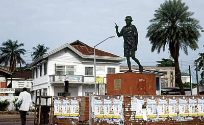 Photograph - Statue Of Dr. Tai Solarin by Muyiwa OSIFUYE
