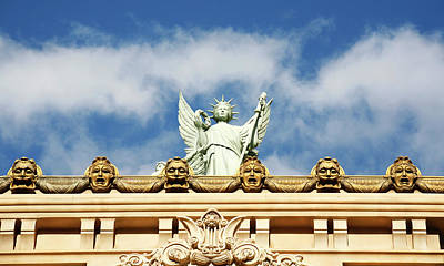 Photograph - Statue Liberty Venetian Hotel by Marilyn Hunt