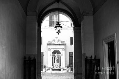 Photograph - Statue Light In Rome by John Rizzuto