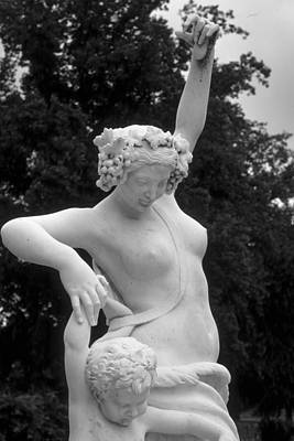 Statue London England Park Art Print by Douglas Pike