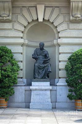 Photograph - statue Neue Geschichte by Michelle Meenawong