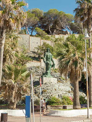 Photograph - Statue Of Abderraman by Rod Jones