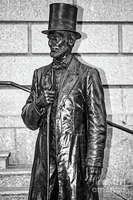 Royalty-Free and Rights-Managed Images - Statue of Abraham Lincoln #1 by Julian Starks