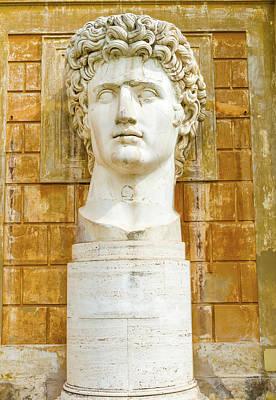 Photograph - Statue Of Augustus In Vatican Museum  by Marek Poplawski