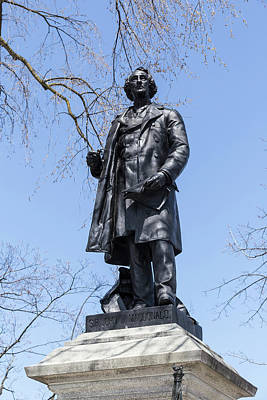 Photograph - Statue Of Canada's First Prime Minister by Josef Pittner