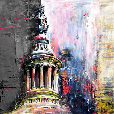 Painting - Statue Of Freedom 224 2 by Mawra Tahreem