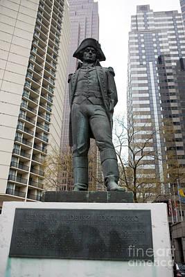 Statue Of General Tadeusz Kosciuszko  Art Print by Jason O Watson