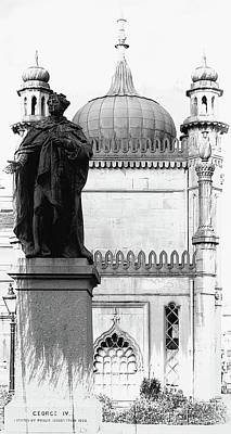 Photograph - Statue Of George Iv Brighton by Dorothy Berry-Lound