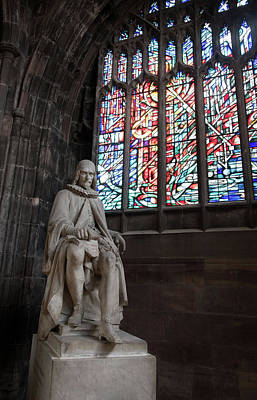 Statue Of Humphrey Chetham, Manchester Cathedral Original