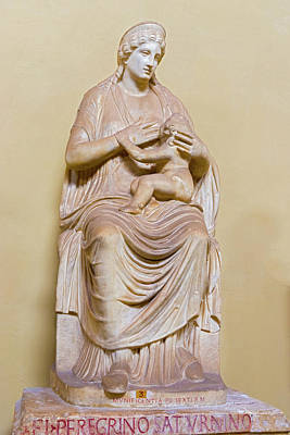 Photograph - Statue Of Isis In Vatican Museum. by Marek Poplawski