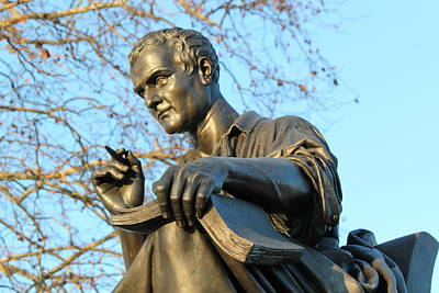 Photograph - Statue Of Jean-jaques Rousseau, Geneva, Switzerland by Elenarts - Elena Duvernay photo