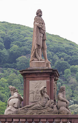 Photograph - Statue Of Karl Theodor by Teresa Mucha