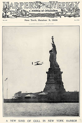 Statue Of Liberty, 1909 Print by Granger