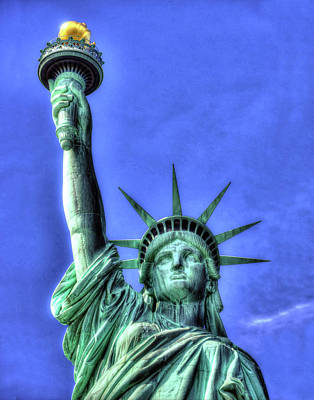 Photograph - Statue Of Liberty 347 by Jeff Stallard