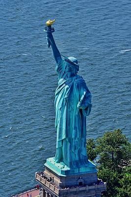 Statue Of Liberty 7 Art Print
