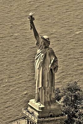 Statue Of Liberty 8 Art Print